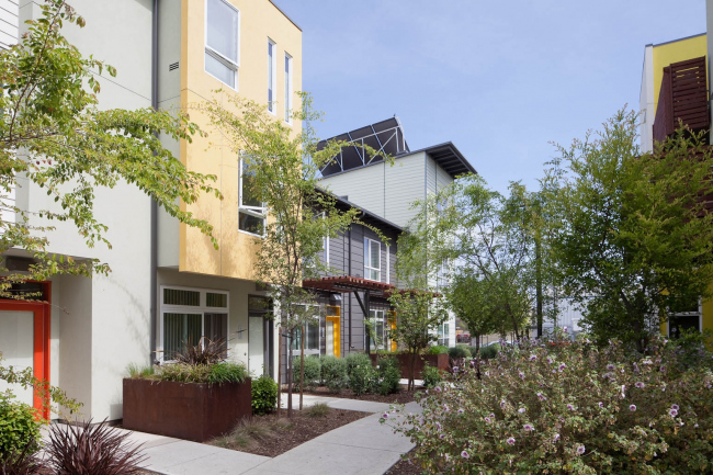 Tassafaronga Village including the Pasta Factory supportive housing © Bruce  Damonte