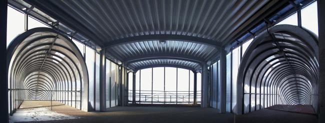 Торгово-пешеходный мост, 24 км. МКАД © Архитектурное бюро Асадова