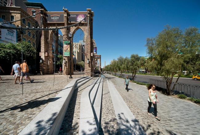 Бульвар Лас-Вегас – общественное пространство © Hans Joosten