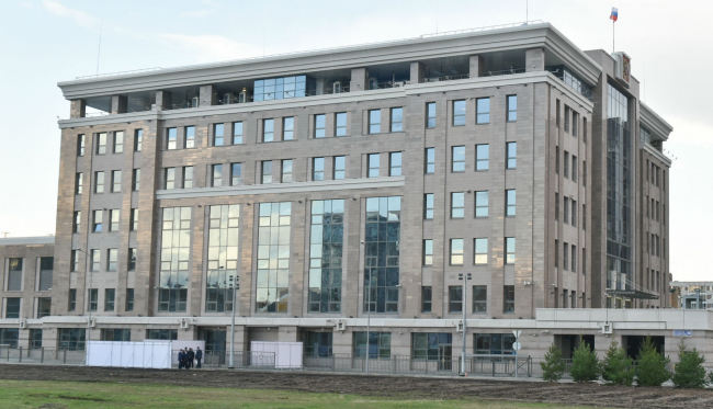 Здание Арбитражного суда в Казани. Фото с сайта www.prav.tatarstan.ru