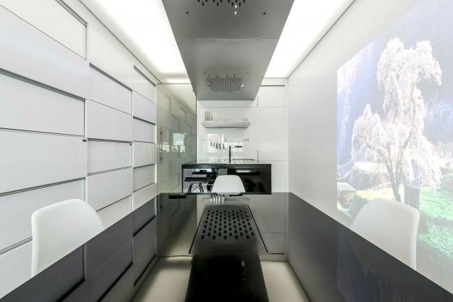 Дизайн кухни для ТВ-проекта «Квартирный вопрос» © Arch group