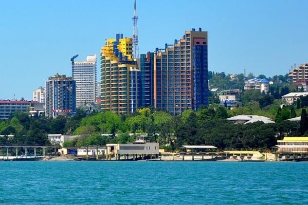 ЖК «Новая Александрия». вид с моря. Источник: new-al.ru