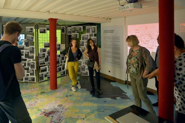 Выставка «Архитектура Украины (АУ) – за линией фронта». Фото предоставлено фондом «Изоляция»