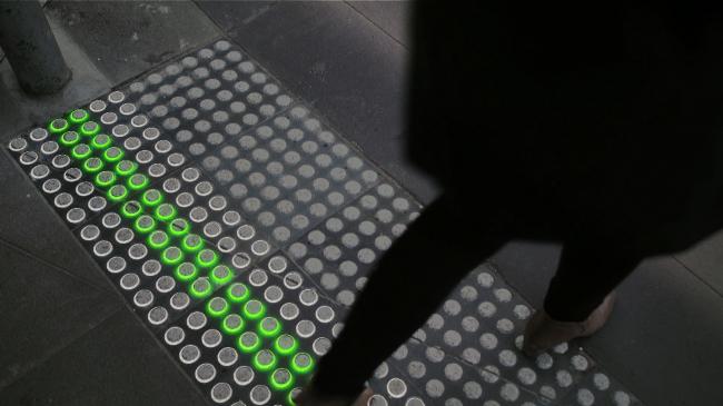 Система Smart Tactile Paving © Büro North