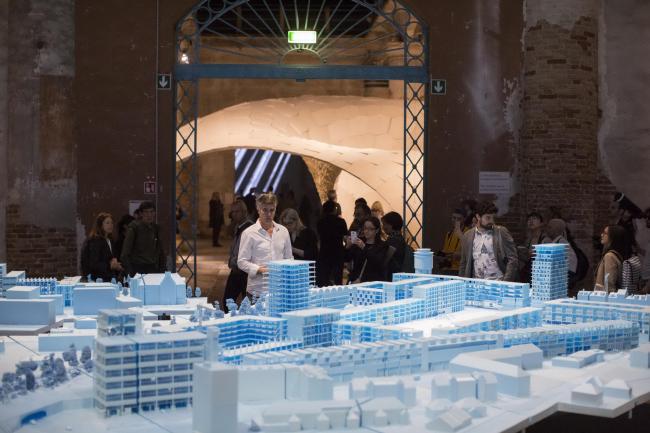 Экспозиция BeL Sozietät für Architektur © Jacopo Salvi