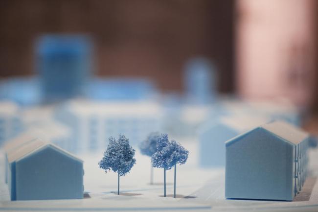 Экспозиция BeL Sozietät für Architektur © Italo Rondinella