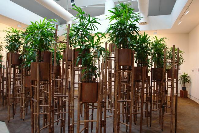 Инсталляция вьетнамского архитектора Во Чонг Нгиа © Нина Фролова