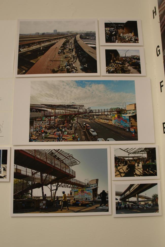 Экспозиция о реконструкции перекрестка в Дурбане © Нина Фролова