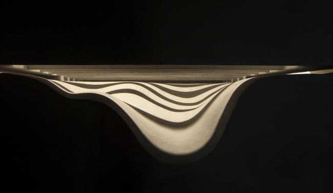 Инсталляция бюро Aires Mateus «Щель» © Francesco Galli