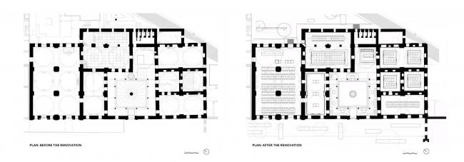 Библиотека Беязыт – реставрация © Tabanlıoğlu Architects