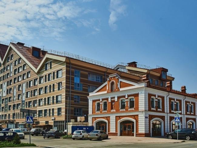 Жилой комплекс  «ASTRA». Фото с сайта www.astraperm.ru