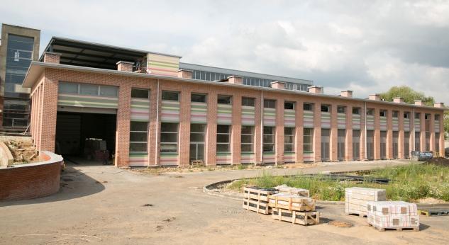Панели ROCKPANEL преобразили фасады исследовательского центра имени Келдыша в Москве. Фото предоставлено компанией Rockwool