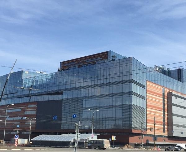 Торгово-развлекательный центр «НЕБО». Фото с сайта www.u-kon.ru