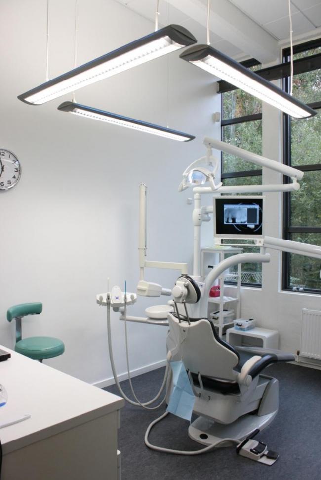 Стоматологическая клиника, Оденсе. Фото предоставлено компанией «КНАУФ»
