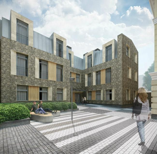 Архитектурное проектирование жилого дома по ул. Б. Дмитровка © T+T Architects