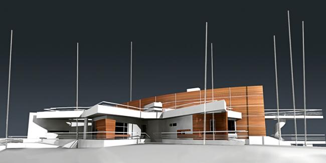 Индивидуальный жилой дом в пос. Архангельское © Архитектурное бюро «Тотемент/Пейпер»