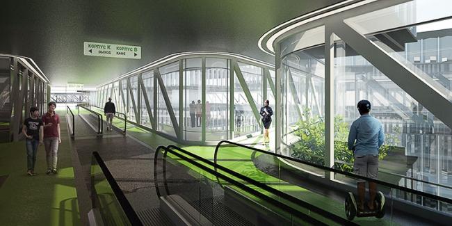 «Сбербанк» в инновационном центре «Сколково» © Архитектурное бюро «Тотемент/Пейпер»