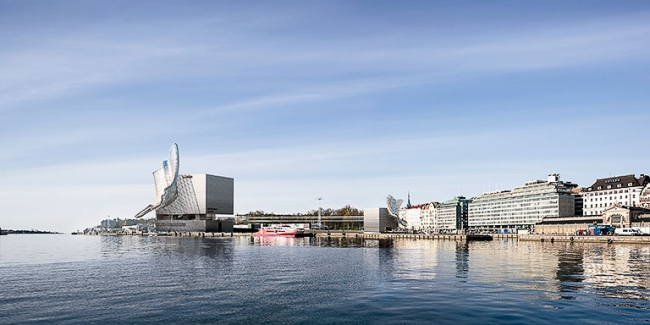 Музей Гуггенхайма. Конкурсный проект © Архитектурное бюро «Тотемент/Пейпер»