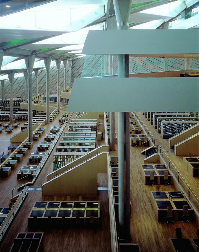 Александрийская библиотека © Gerald Zugmann