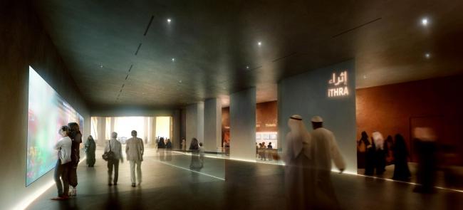 Центр мировой культуры короля Абдулазиза © Snøhetta & MIR