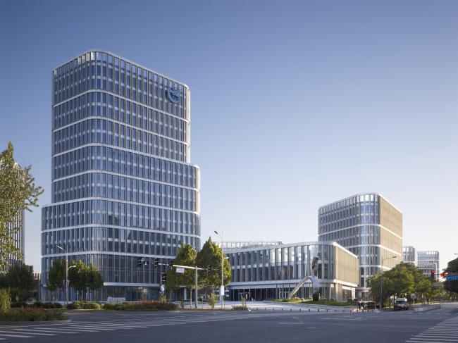 Бизнес-парк «AVIC Международный город авиапромышленности» © Christian Gahl