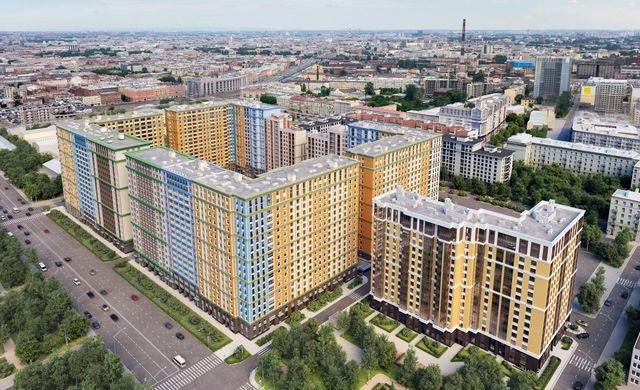 Жилой комплекс «Времена года». Защищен материалами ROCKWOOL. Фото с сайта www.vremenagoda-spb.ru