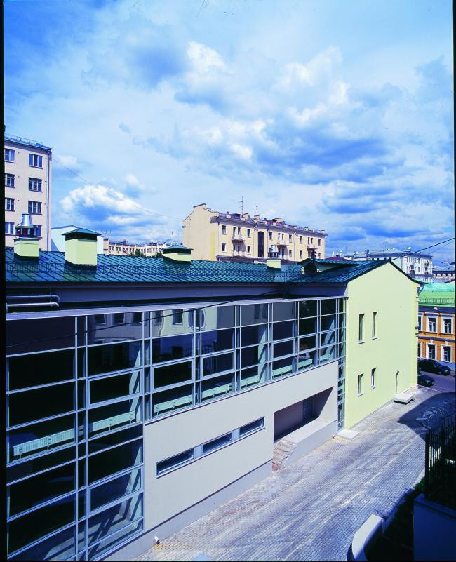 Торгово-офисное здание на ул. Покровка (реконструкция) © Архитектурная мастерская Лызлова