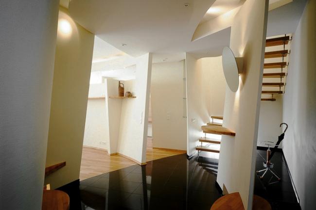 Интерьер квартиры по ул. Маленковская © Архитектурное бюро «Тотемент/Пейпер»