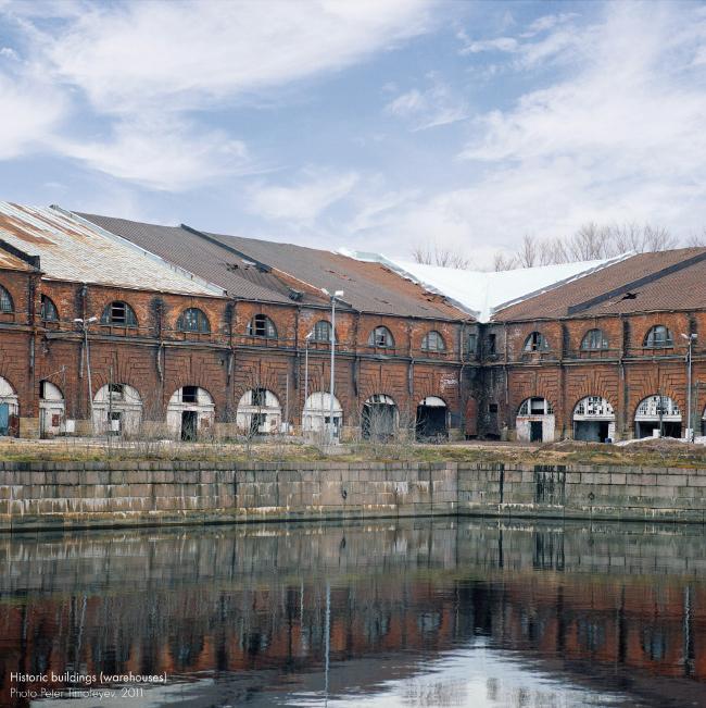Новая Голландия. Историческое здание © New Holland Development