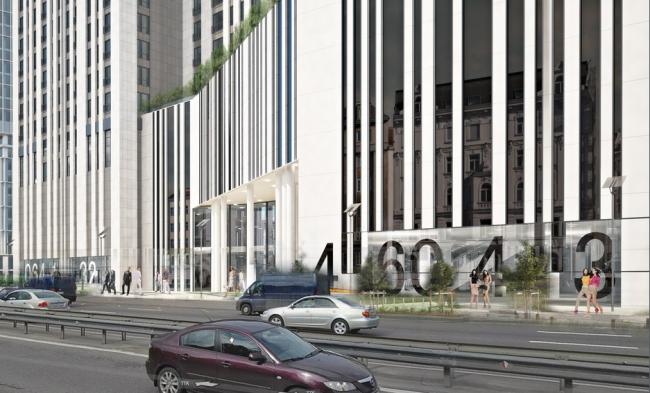 Многофункциональный комплекс на ул. Нижняя Масловка © Архитектурная мастерская «Группа АБВ»
