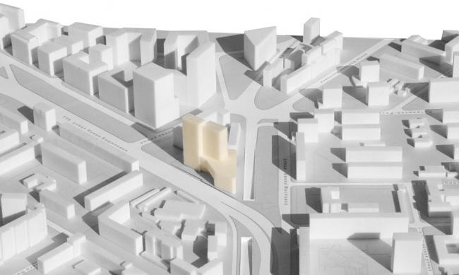 Многофункциональный комплекс на ул. Нижняя Масловка © Архитектурная мастерская «АБВ»