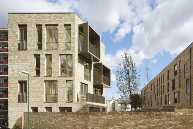 Жилой комплекс Ely Court © Paul Riddle