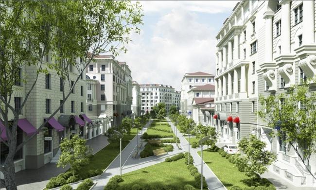 Концепция комплексной жилой застройки поселка Заречье © Архитектурная мастерская «Группа АБВ»