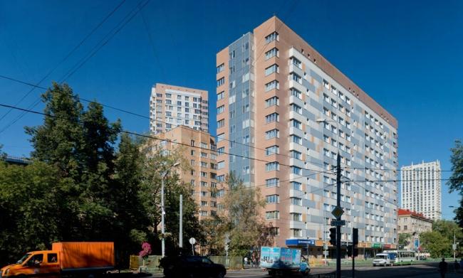 Жилой комплекс «Бирюзова 33» © Архитектурная мастерская «Группа АБВ»