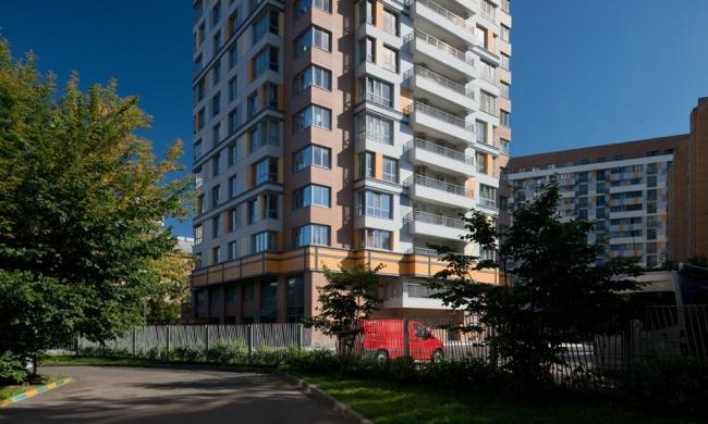 Жилой комплекс «Бирюзова 33» © Архитектурная мастерская «АБВ»