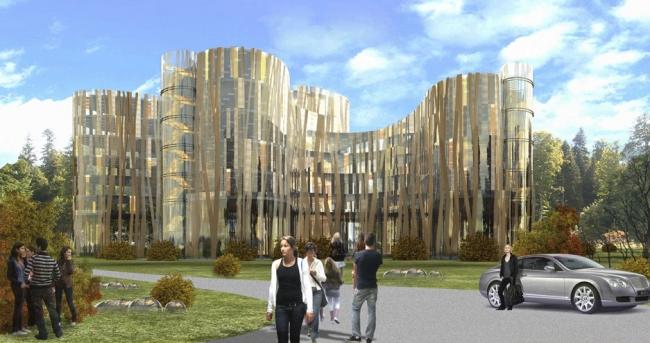 Офисное здание в д. Говорово © Архитектурная мастерская «Группа АБВ»