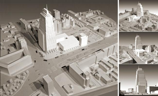 Многофункциональный комплекс в Оружейном переулке  © Архитектурная мастерская «Группа АБВ»