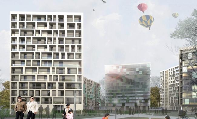 Жилой комплекс в Языковском переулке © Архитектурная мастерская «Группа АБВ»