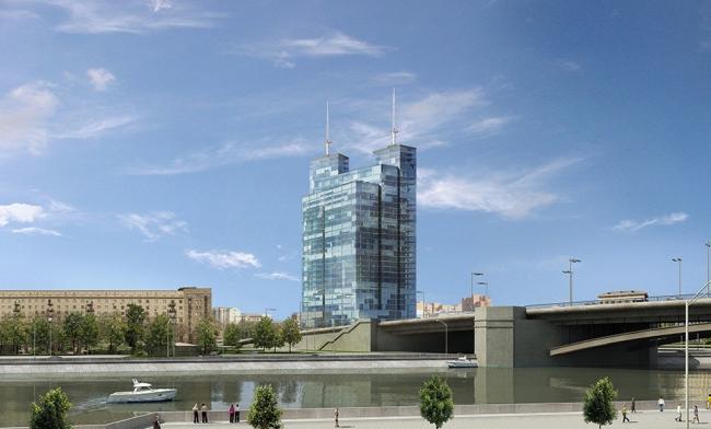 Офисный центр на Народной улице © Архитектурная мастерская «Группа АБВ»