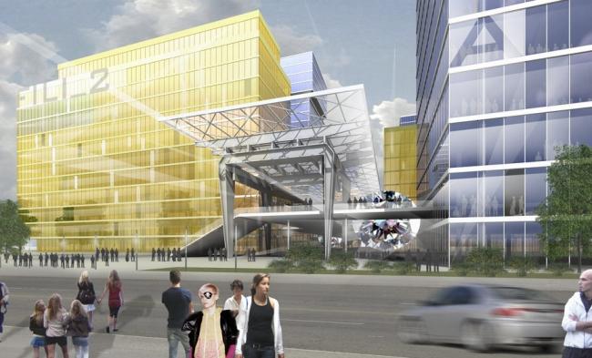 Офисный центр «Береговой» © Архитектурная мастерская «Группа АБВ»