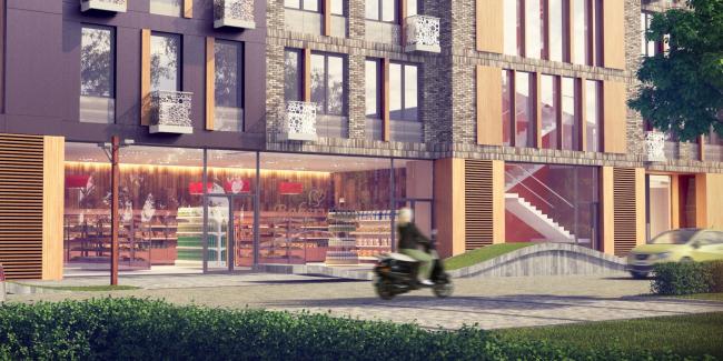 Жилой квартал «1147». Проект, 2014. В процессе строительства © ADM