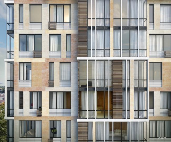 Жилой комплекс «Карамель». Постройка, 2016 © ADM