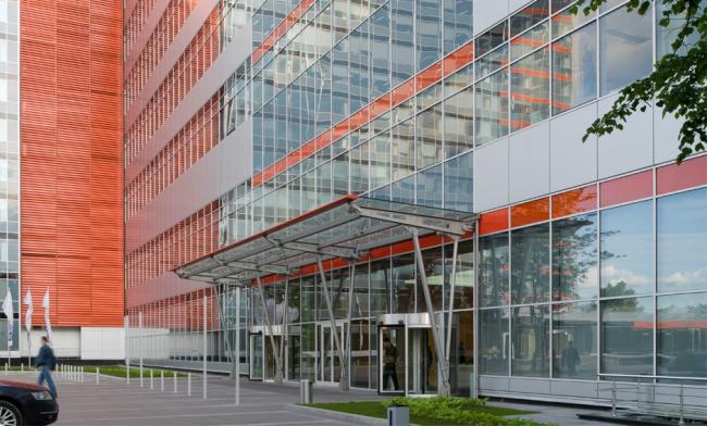Бизнес-центр «Кругозор». Постройка, 2006 © Архитектурная мастерская «Группа АБВ»