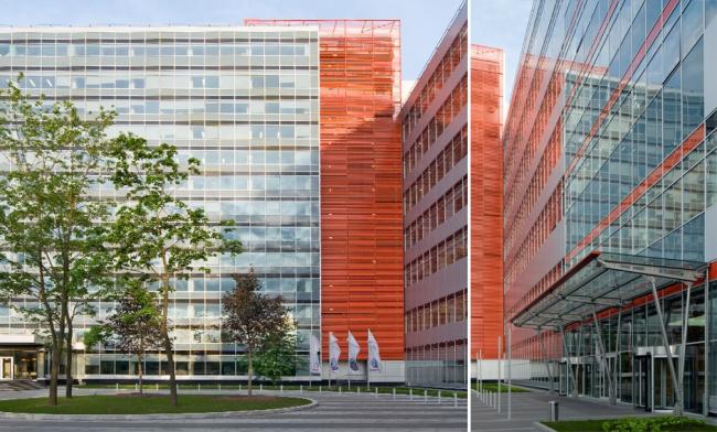 Бизнес-центр «Кругозор». Постройка, 2006 © Архитектурная мастерская «АБВ»