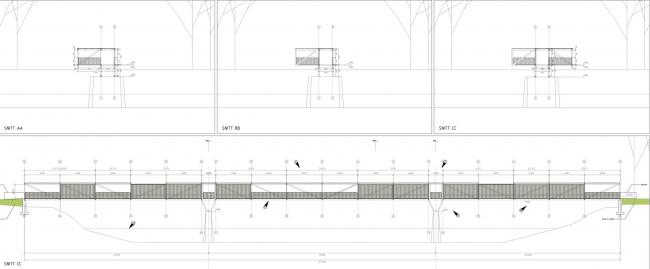 Мост Тинтра © Rintala Eggertsson Architects