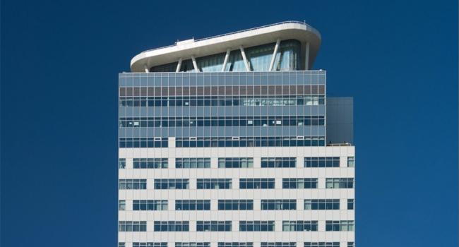 Многофункциональный центр на Крылатских холмах. Реализация, 2005 © Архитектурная мастерская «Группа АБВ»