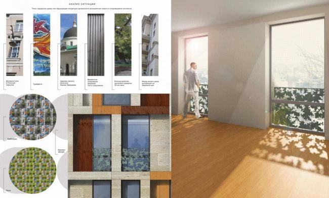 Жилой комплекс на ул. Земляной Вал. Проект, 2007 © Архитектурная мастерская «Группа АБВ»