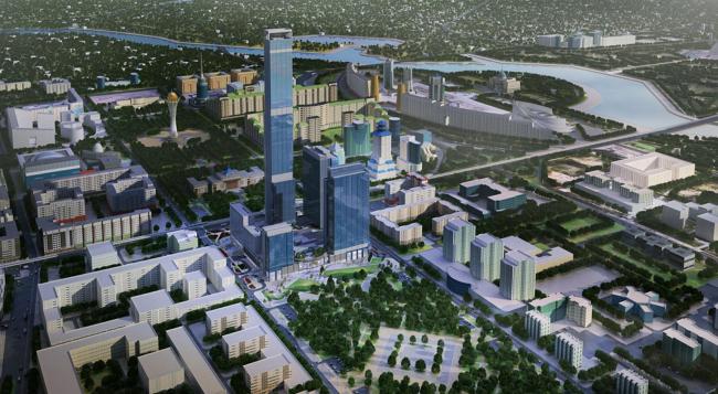 Абу-Даби Плаза – многофункциональный комплекс. Проект, 2007. Реализация, 2016 © Aldar Properties