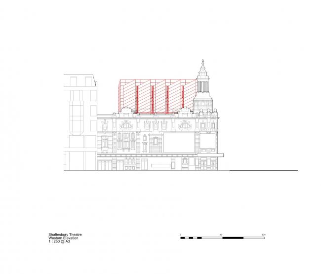 Театр Шефтсбери – реконструкция © Bennetts Associates