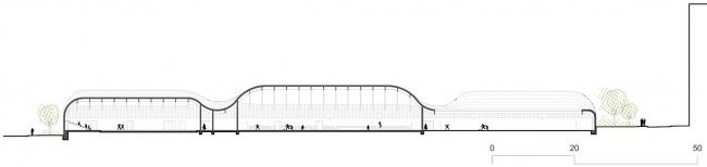 Школьный кампус Триво-Гарен © Gaetan Le Penhuel Architectes